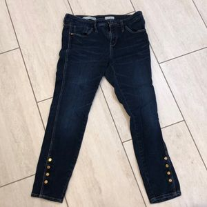 Pilcro Anthropologie skinny ankle jeans in size 31